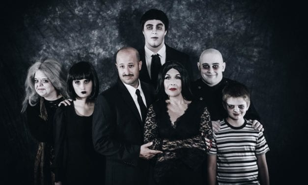 """Move towards the darkness"" of Hopebox's ADDAMS FAMILY"