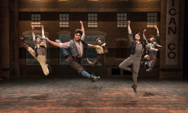 """Watch What Happens"" at Pioneer's amazing NEWSIES"
