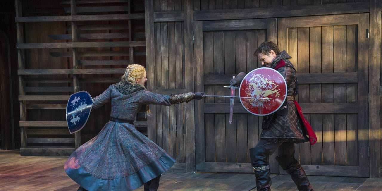Fights, acting, and directing make HENRY VI, PART ONE a pleasing choice