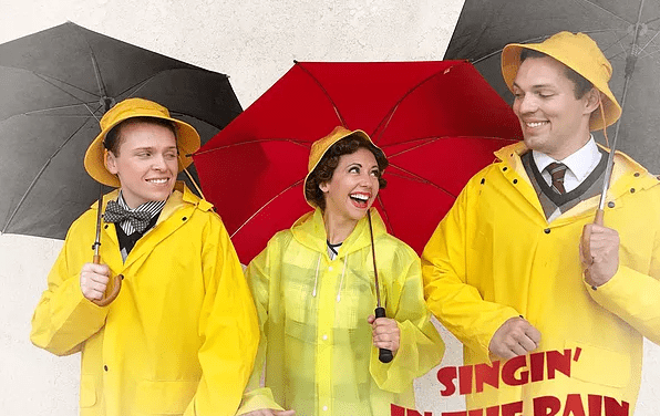 "Terrace Plaza's SINGIN' IN THE RAIN is as ""fit as a fiddle"""