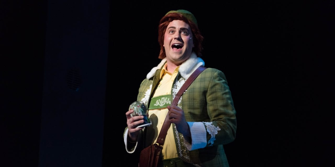 "ELF THE MUSICAL's script is ""in the way"" of CenterPoint's cast"
