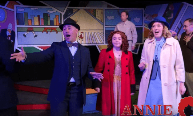 "See the Hopebox Theatre's production of ANNIE for ""A New Deal For Christmas"""