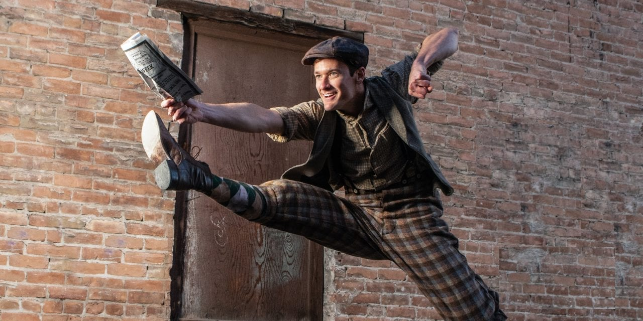 Disney's NEWSIES at Orem Hale makes headlines