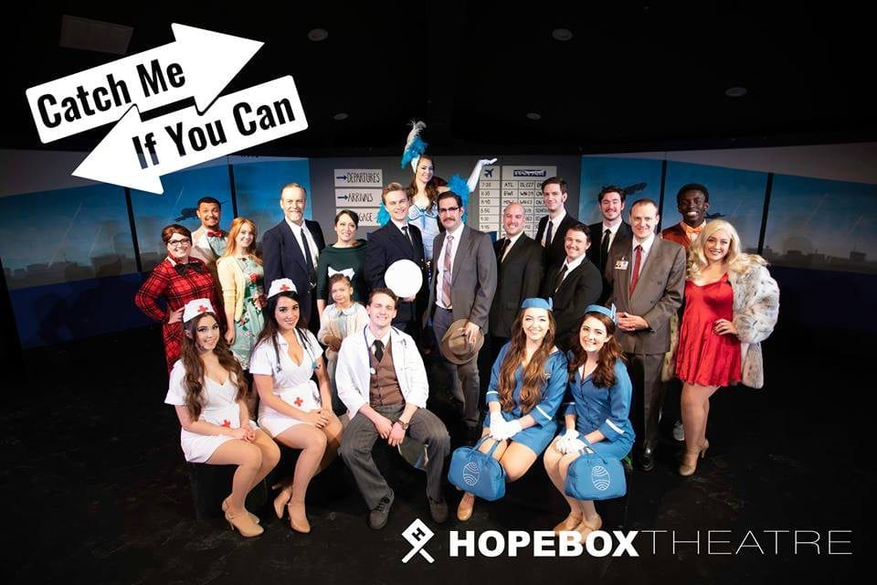 CATCH ME IF YOU CAN: a good night for a good cause