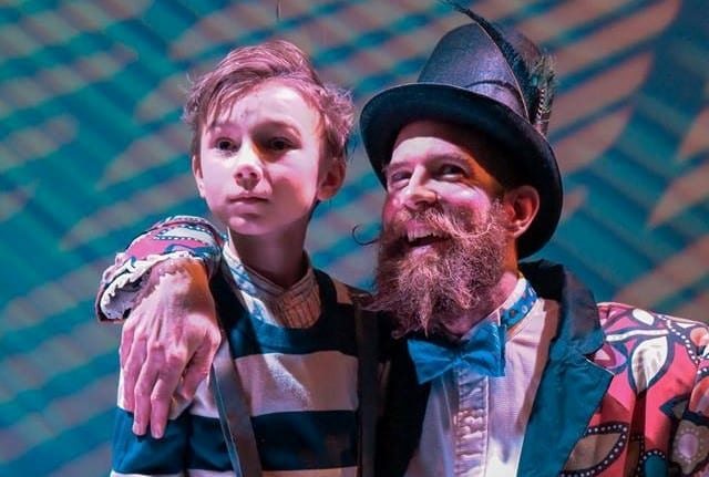 Grotesque fun with JAMES AND THE GIANT PEACH at UCT