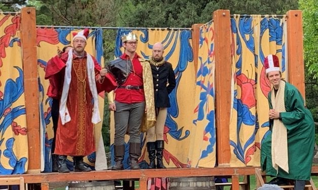 Grassroots's HENRY V humorous and charming