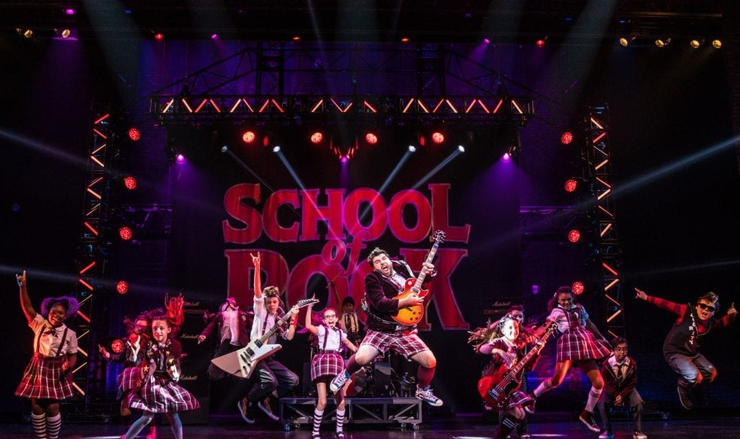 It's OK to sluff SCHOOL OF ROCK