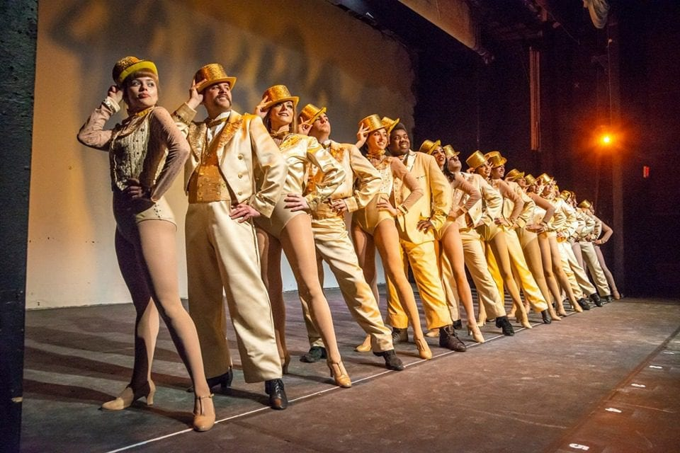 """Love's what we'll remember"" in Ziegfeld's A CHORUS LINE"