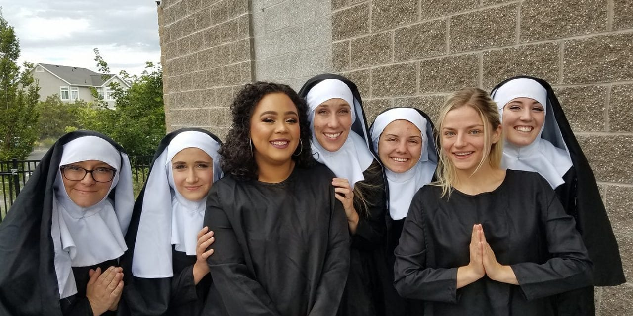"""Draper's SISTER ACT is like """"nun"""" other"""