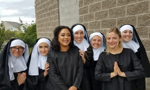 "Draper's SISTER ACT is like ""nun"" other"