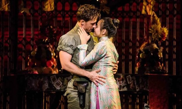 The beautiful story of MISS SAIGON will leave you in tears
