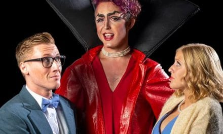 """Don't dream it, be it"" at THE ROCKY HORROR SHOW"