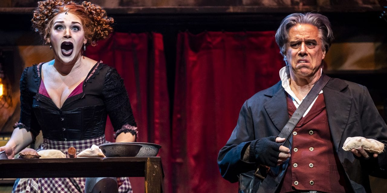 Attend the tale of Mrs. Lovett at Utah Rep's SWEENEY TODD