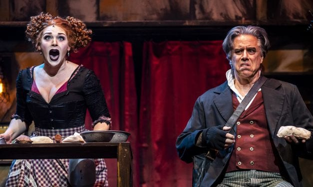 A double dose of SWEENEY TODD reviews!