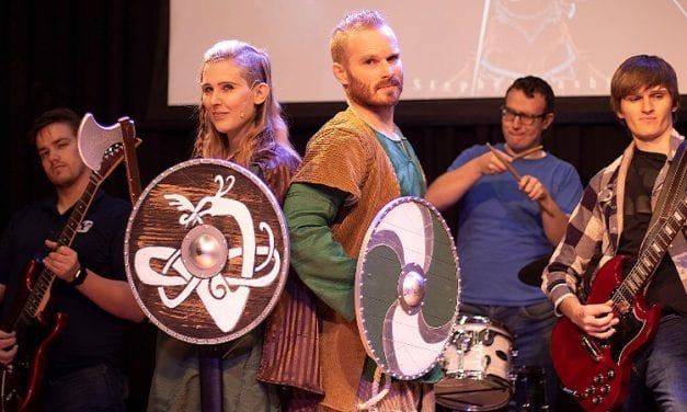 VALHALLA! A NORDIC ROCK OPERA premieres in historic Angelus Theatre