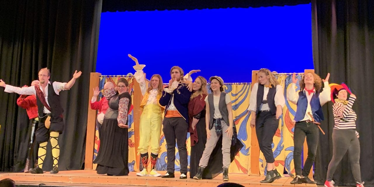 Grassroots Shakespeare's TWELFTH NIGHT shines on the SCERA stage