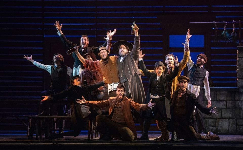 Broadway at the Eccles's production of FIDDLER ON THE ROOF is traditional