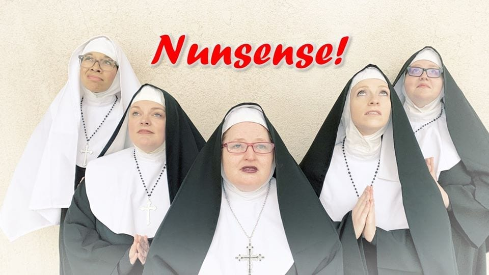 Laughter is habit forming at Beverly's Terrace Plaza's NUNSENSE!