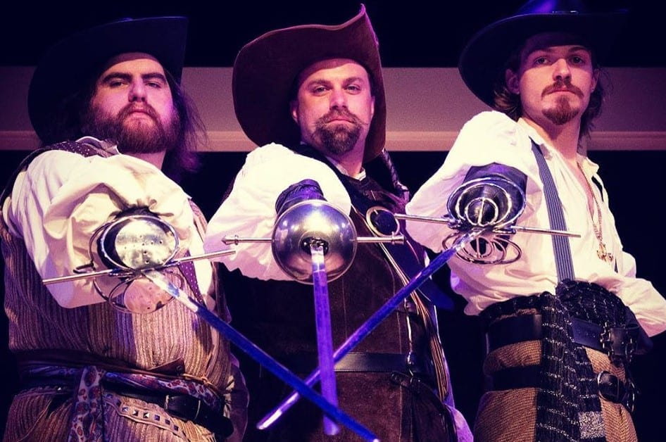 Parker Theatre's THE THREE MUSKETEERS is fun for one, and fun for all