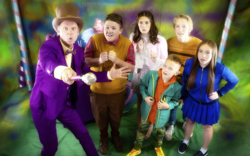 WILLY WONKA is a world of pure juxtaposition