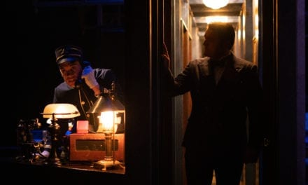 Get your ticket punched for HCT's MURDER ON THE ORIENT EXPRESS