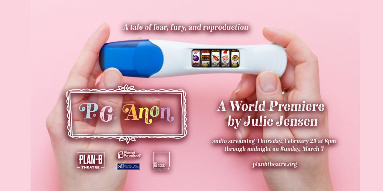 Plan-B delivers with audio drama P.G. ANON